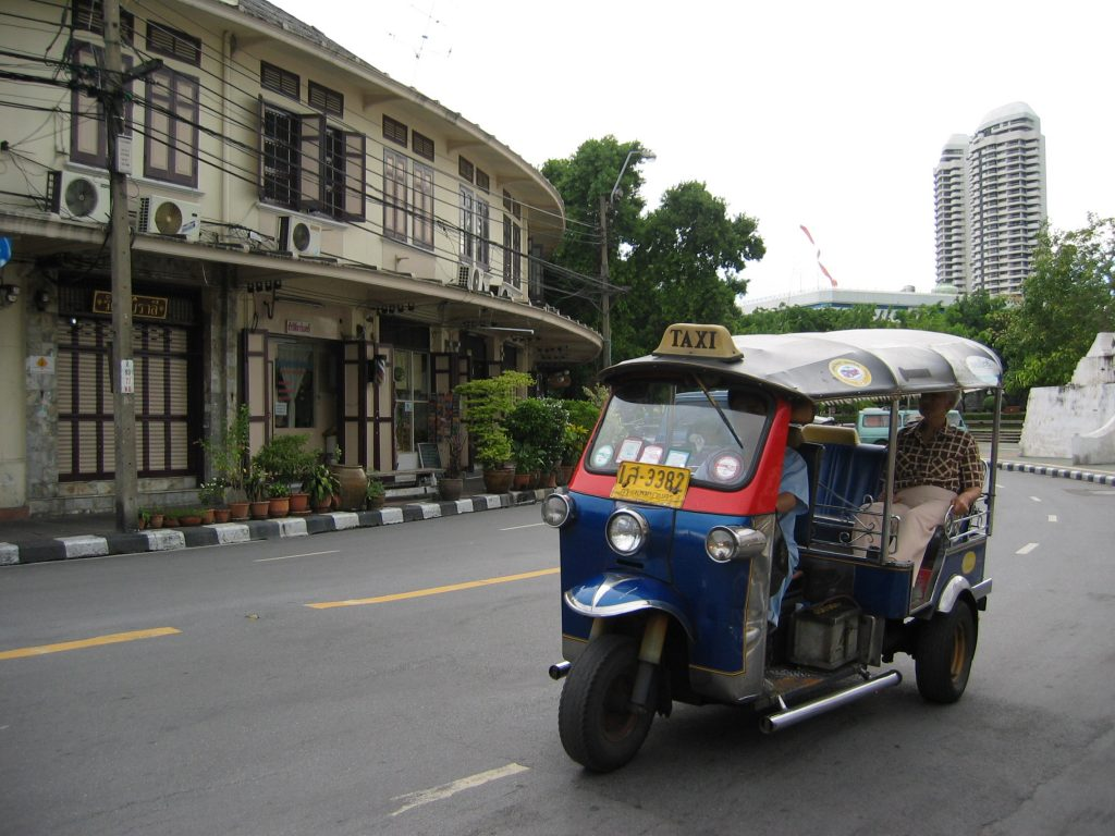 Tuk Tuk in Thailand on Talk Travel Asia, tantalizing travel tales II