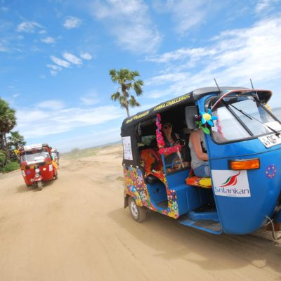 Talk Travel Asia Podcast interview with Julian Carnell of Large Minority about Tuk Tuk travel in Asia