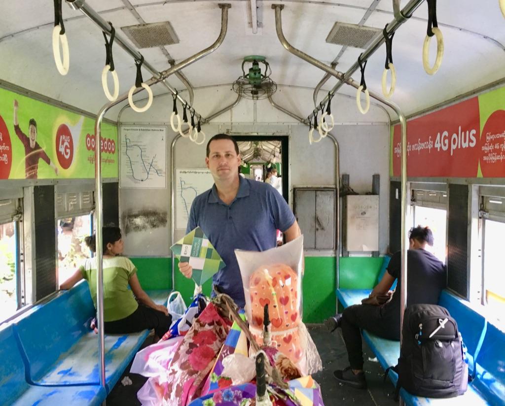 Talk Travel Asia Hidden Gems Myanmar: Yangon Train