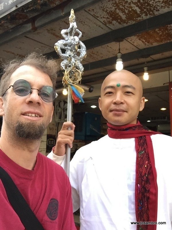 Talk Travel Asia Taiwan Travel Tips podcast guest Josh Brown (courtesy of Josh Brown)