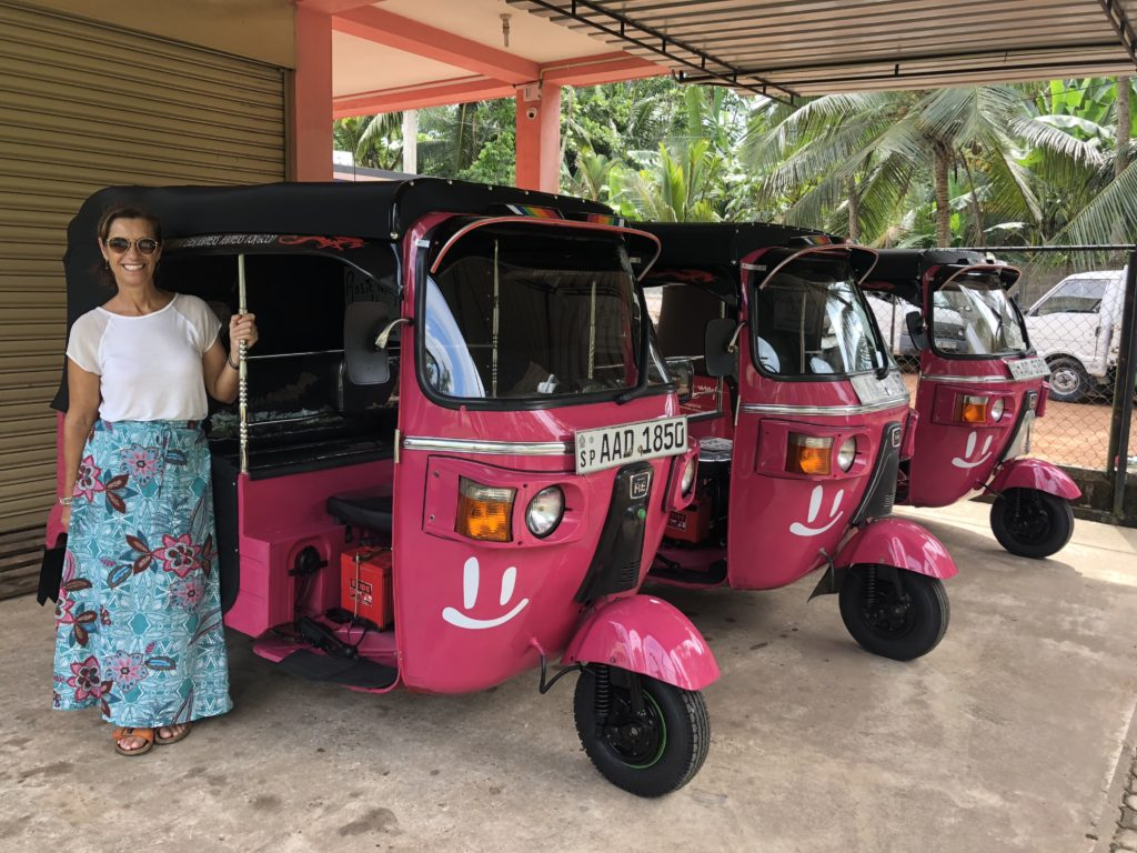 Interview with Think Pink Tuk Tuks Founder Mary Storrie on Talk Travel Asia podcast