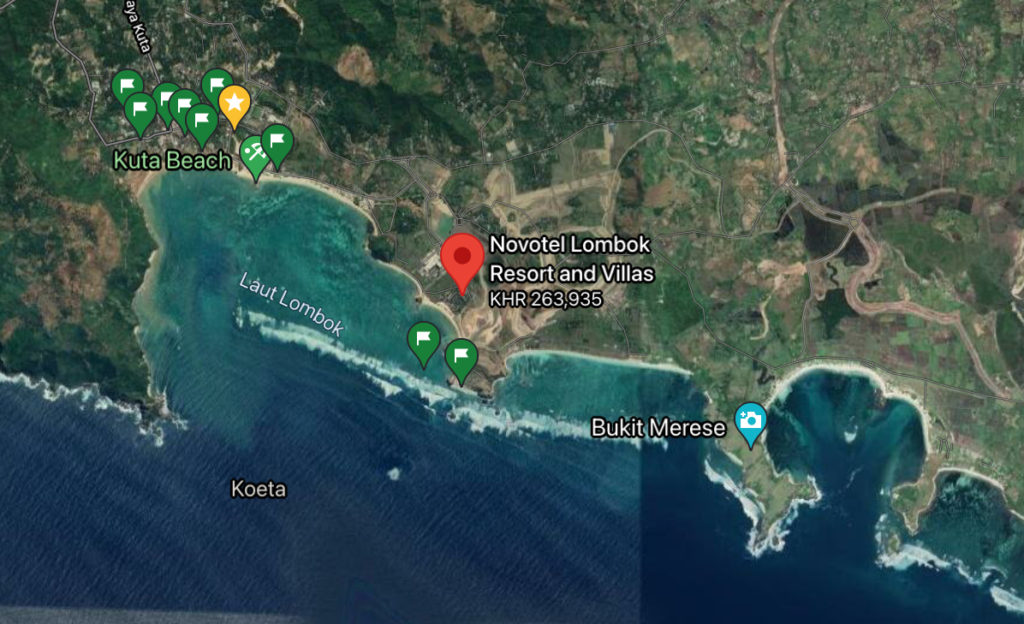 Planning a surf trip to Lombok